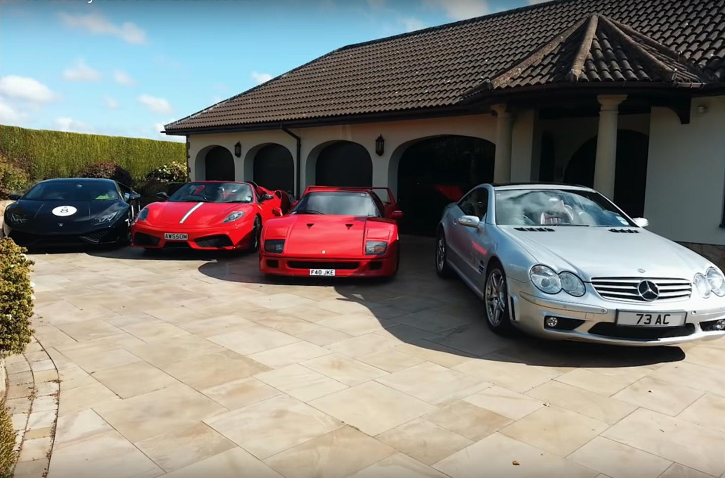 Дедуля показал класс на экстремальном суперкаре Ferrari F40 (видео) 2