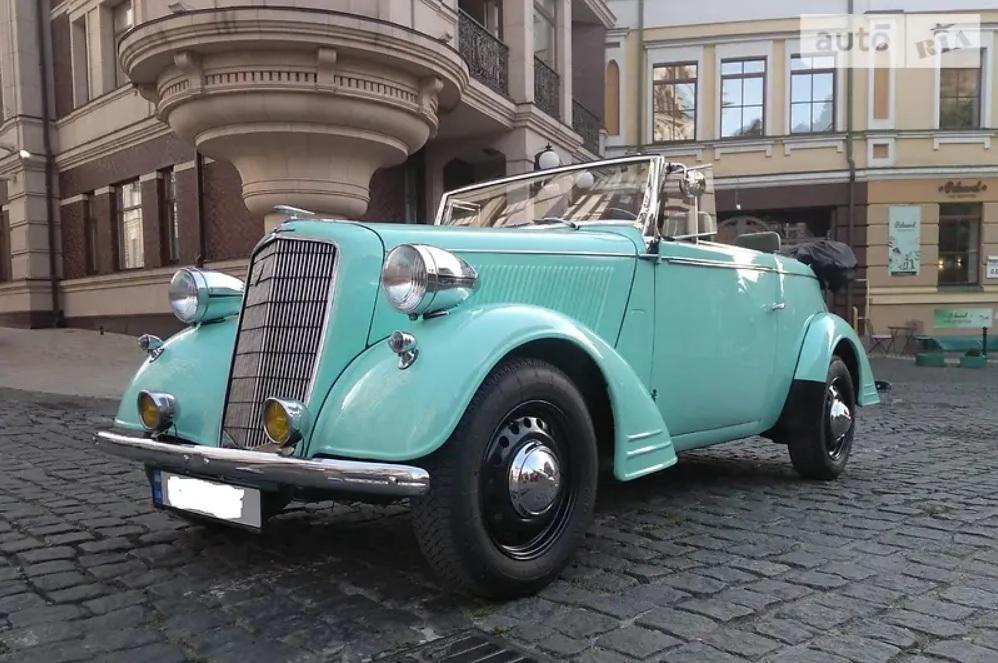 В Украине выставлен на продажу редчайший 85-летний спорткар Opel 1