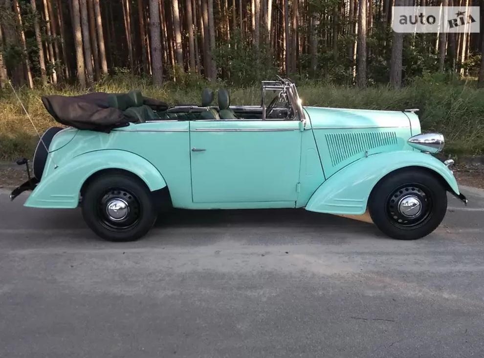 В Украине выставлен на продажу редчайший 85-летний спорткар Opel 2