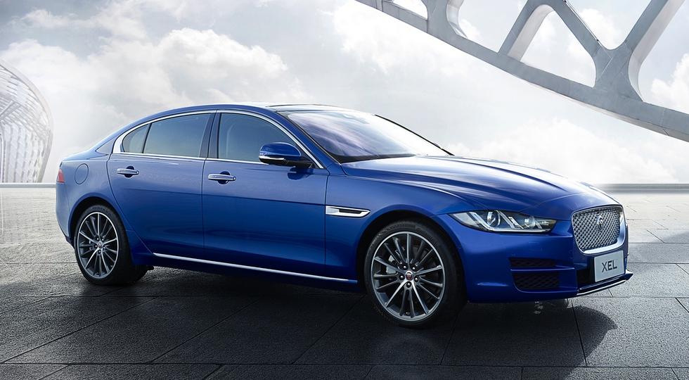 Jaguar презентовал удлиненную «четырехдверку» XE 1