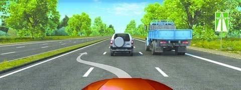 Запреты, которые действуют на автомагистралях 1