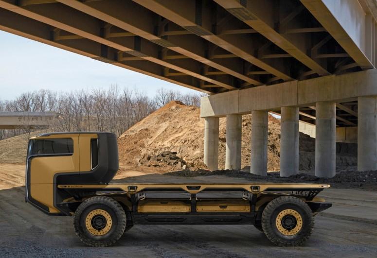 General Motors представил высокотехнологичный грузовой концепт 1