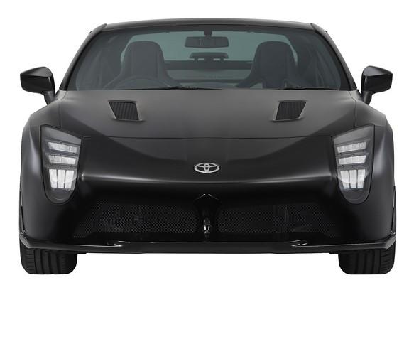 Toyota показала свой новый спорткар 1