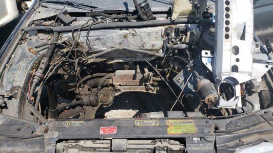 На свалке обнаружен раритетный седан Alfa Romeо 2