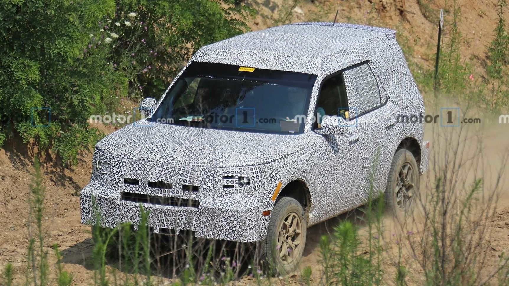 Новый внедорожник Ford засветился на дорожных тестах 1