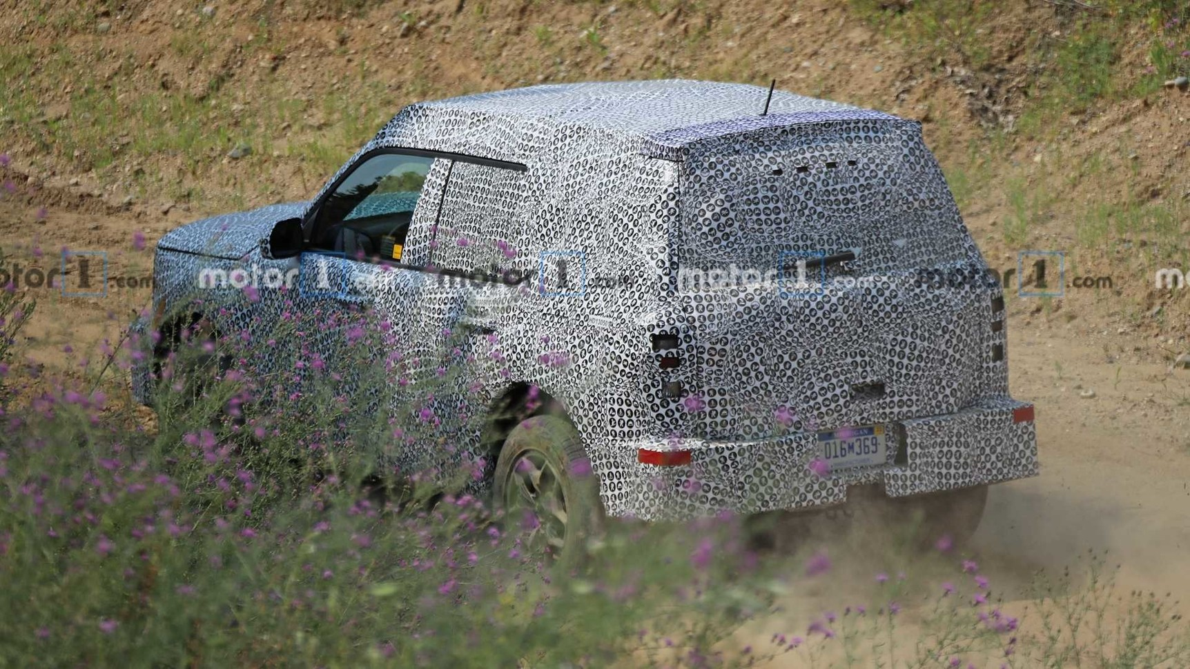 Новый внедорожник Ford засветился на дорожных тестах 2