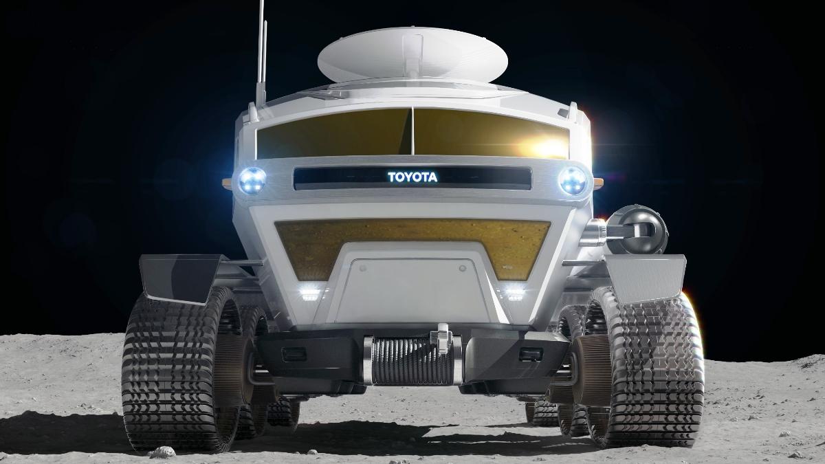 Toyota разрабатывает водородный лунный автобус 1