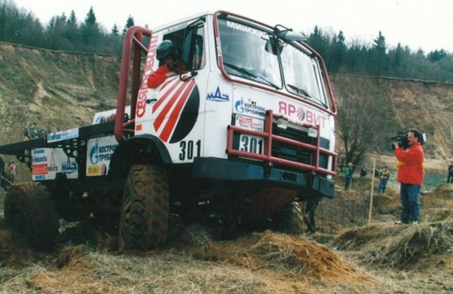 МАЗ возродил легендарный спортивный грузовик 1