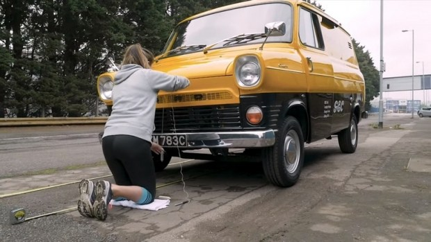 Классический Ford Transit появится в видеоигре 1