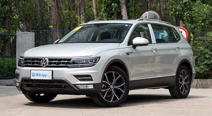 Volkswagen выпустил семиместный Tiguan L 1