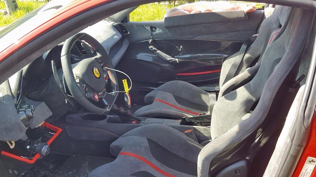 Разбитый Ferrari 488 Pista оценили в 417 тысяч долларов 2
