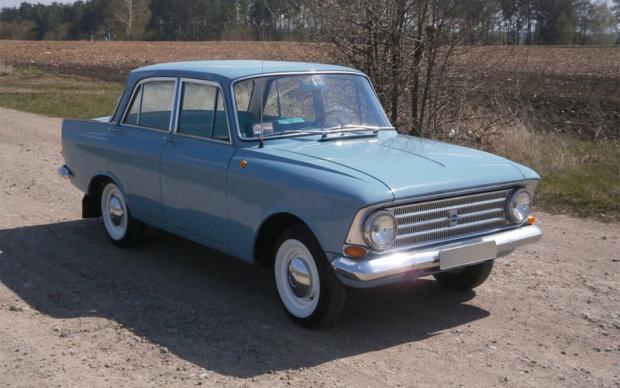 В Германии обнаружили старый «Москвич» редкой модели 5