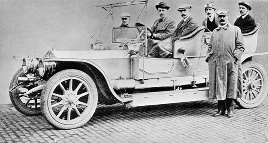 Первый Rolls-Royce Silver Ghost продан за рекордную цену 1
