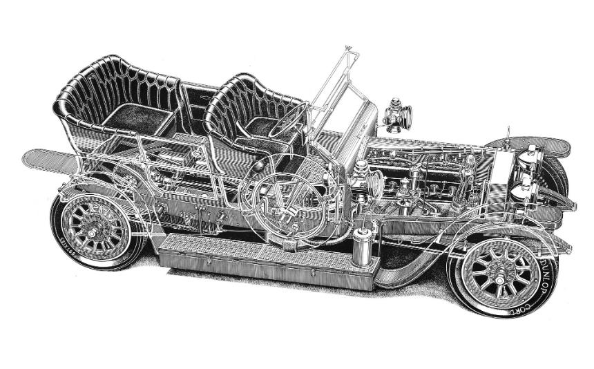 Первый Rolls-Royce Silver Ghost продан за рекордную цену 3