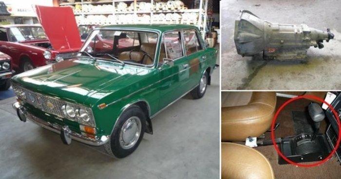 Опубликованы фото старых «Жигулей» с АКПП от General Motors 1