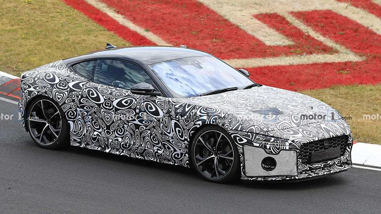 Обновленный Jaguar F-Type замечен на Нюрбургринге 2