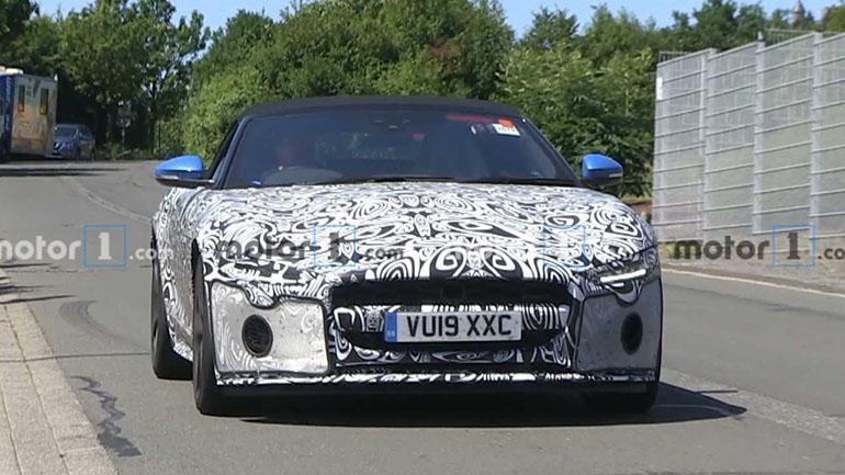Обновленный Jaguar F-Type замечен на Нюрбургринге 1