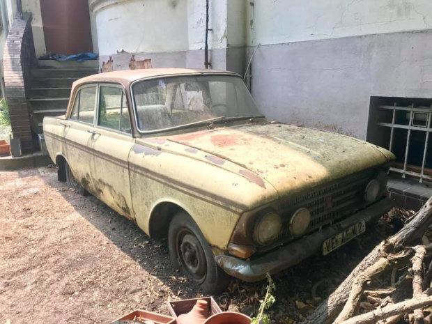 В Германии обнаружили старый «Москвич» редкой модели 1