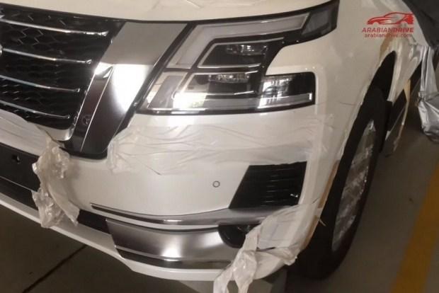 В Сеть выложили новые кадры Nissan Patrol 2020 1