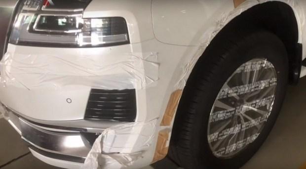 В Сеть выложили новые кадры Nissan Patrol 2020 2