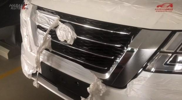 В Сеть выложили новые кадры Nissan Patrol 2020 3