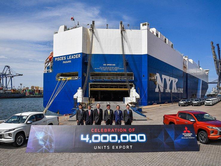 Mitsubishi ставит рекорд по экспорту автомобилей 1