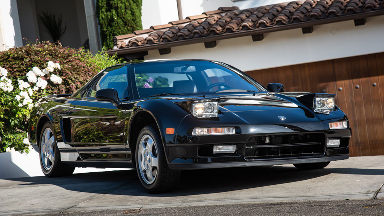 Acura NSX 1991 года практически без пробега уйдет «с молотка» 1