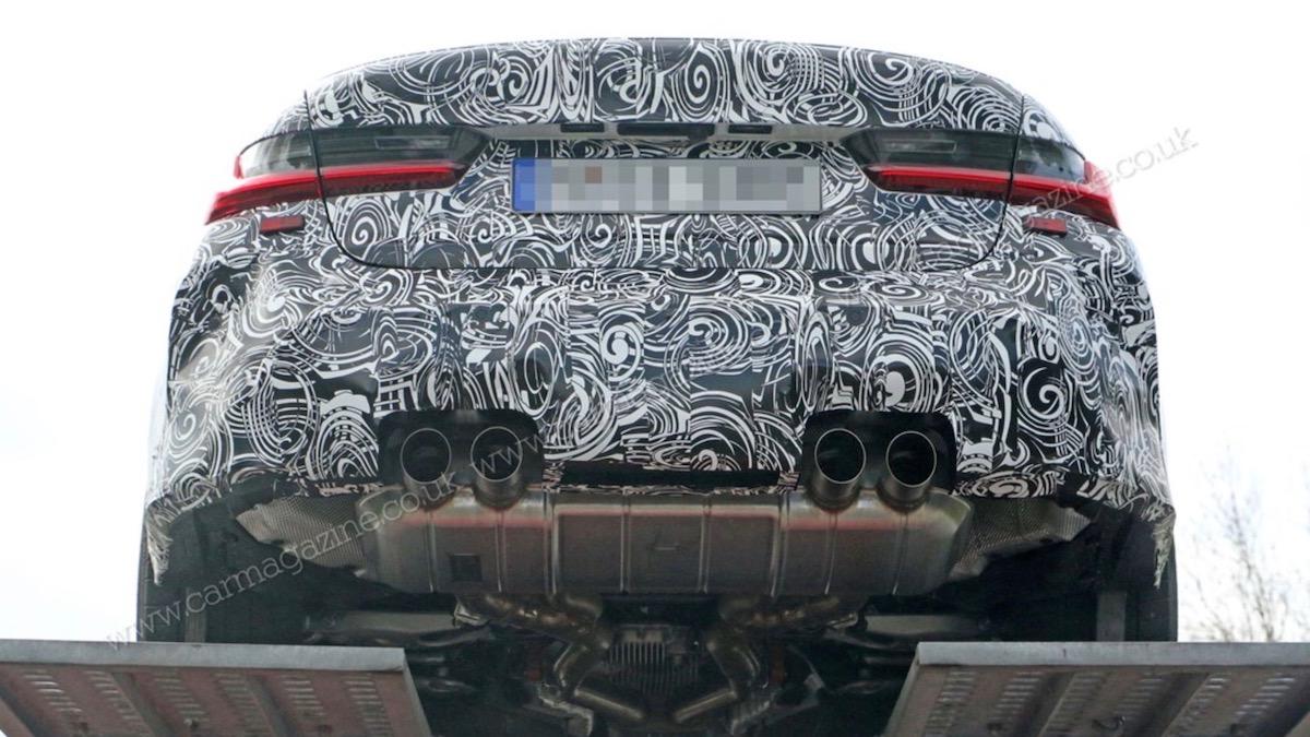 Новый BMW M3 получит полный привод и мотор от кроссоверов 2