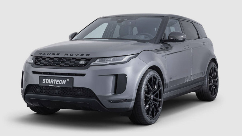 Ателье Startech представило пакет для Range Rover Evoque 1