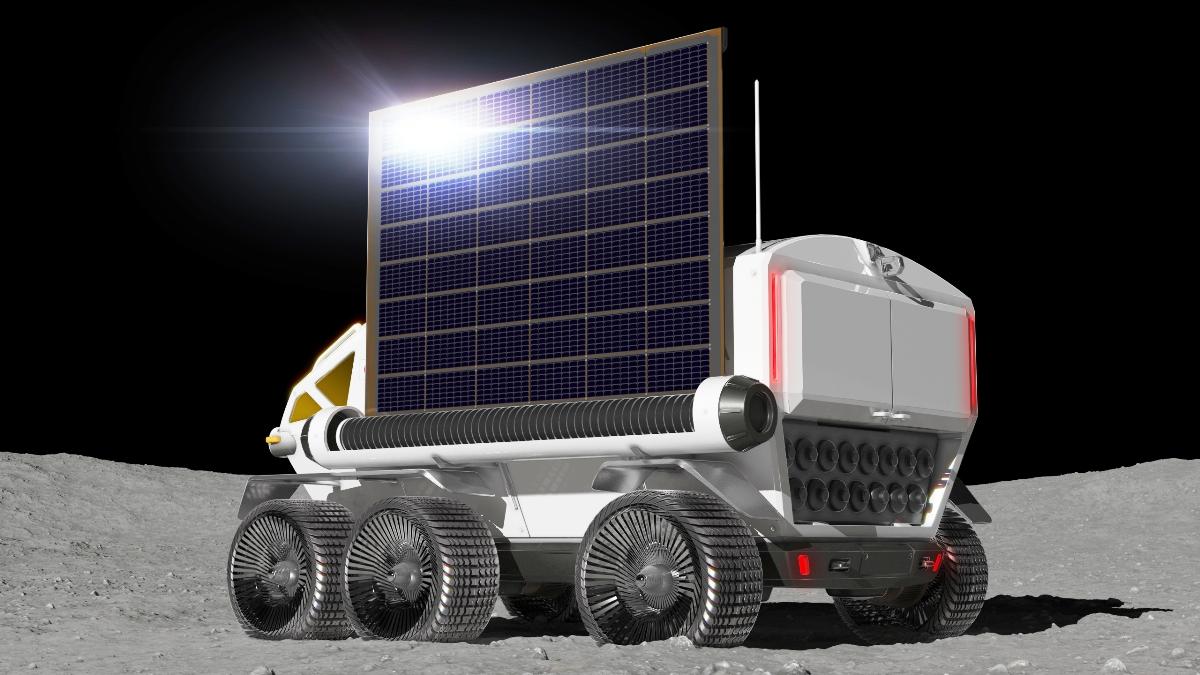 Toyota разрабатывает водородный лунный автобус 2
