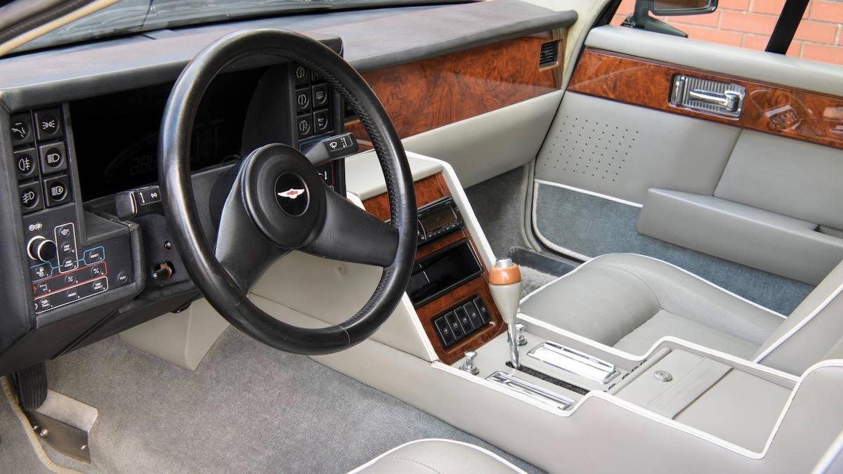 Редкий универсал Aston Martin Lagonda продадут на аукционе 2
