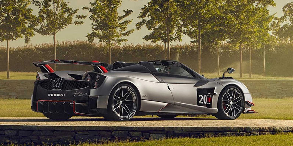 Pagani представила 800-сильный родстер за 3 миллиона евро 2