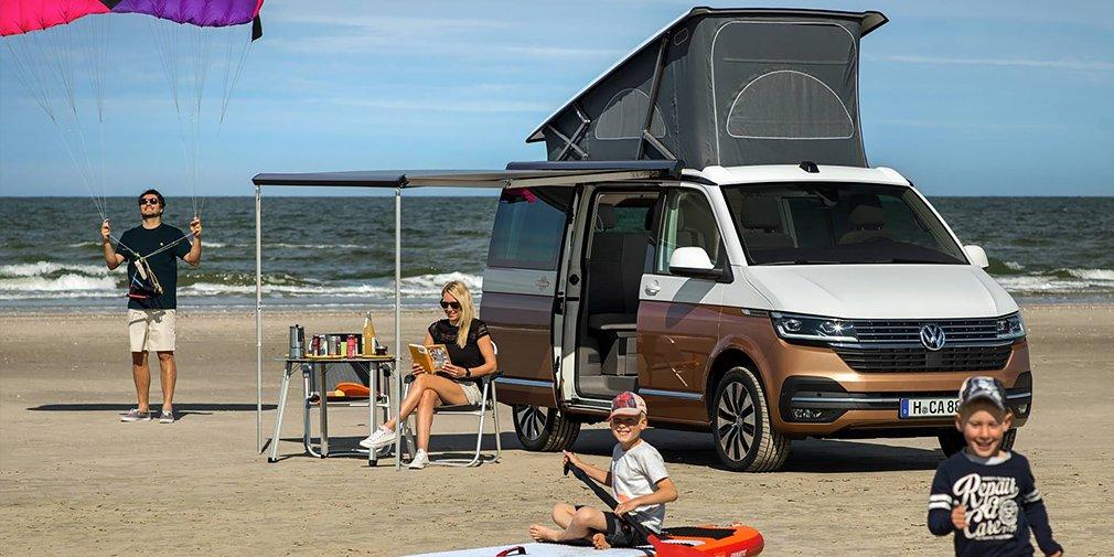Volkswagen представил обновленный кемпер California 1
