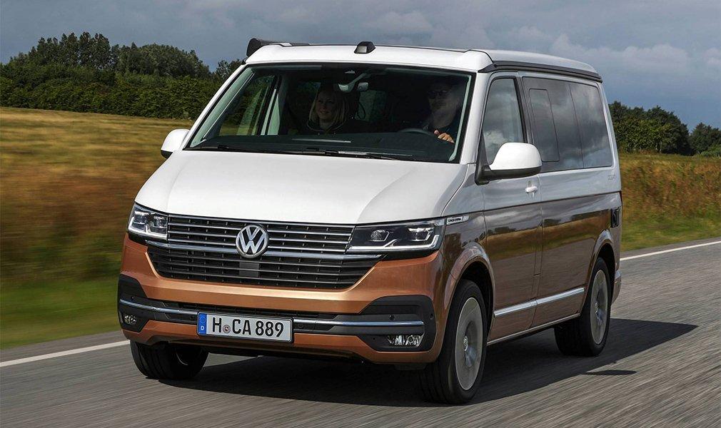 Volkswagen представил обновленный кемпер California 2