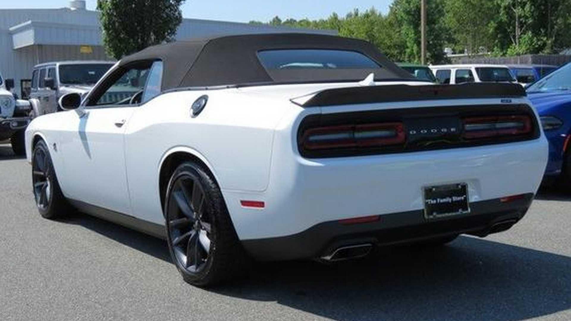 Дилер сделал Dodge Challenger без крыши, чтобы клиенты не уходили за Камаро и Мустангом 2