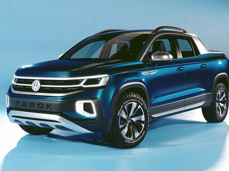 Volkswagen готовится к выходу нового пикапа 1