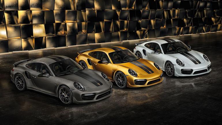 В США продается кабриолет Porsche 911 Turbo S Exclusive Series 1