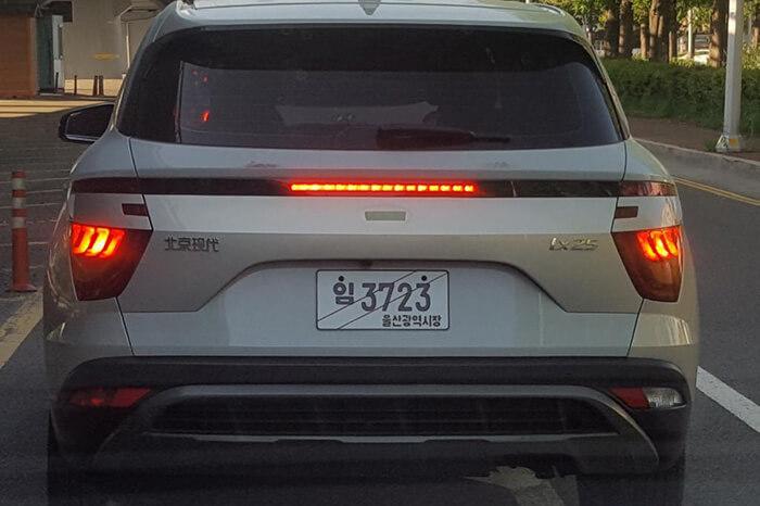 Новый Hyundai ix25/Creta впервые засняли при дневном свете 1