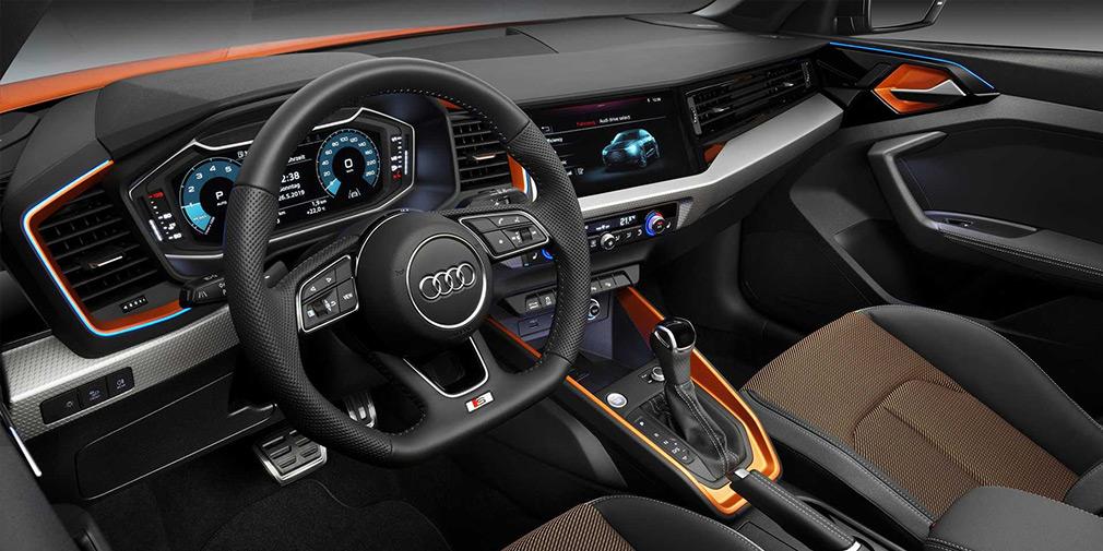 Audi A1 превратили в кроссовер 1