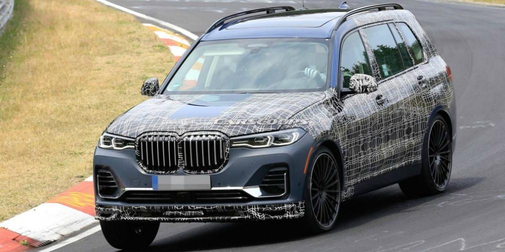 Alpina вывела на тесты 600-сильную BMW X7 1