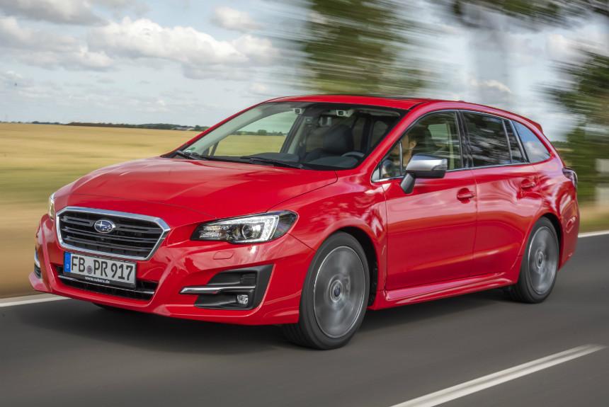 Европейский универсал Subaru Levorg лишился турбомоторов 1