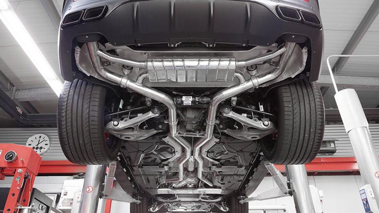Автомобили Mercedes-AMG следующего поколения станут тише 2