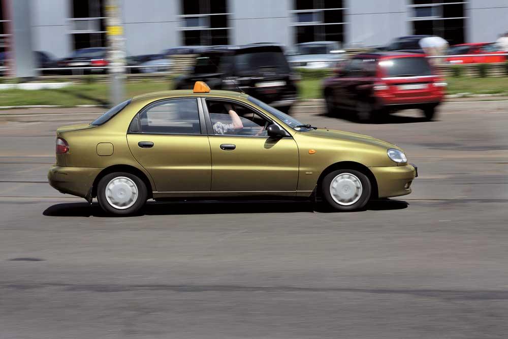 Какие автомобили предпочитают украинские таксисты 1