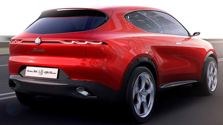 Alfa Romeo показала первые рендеры серийного Tonale 2