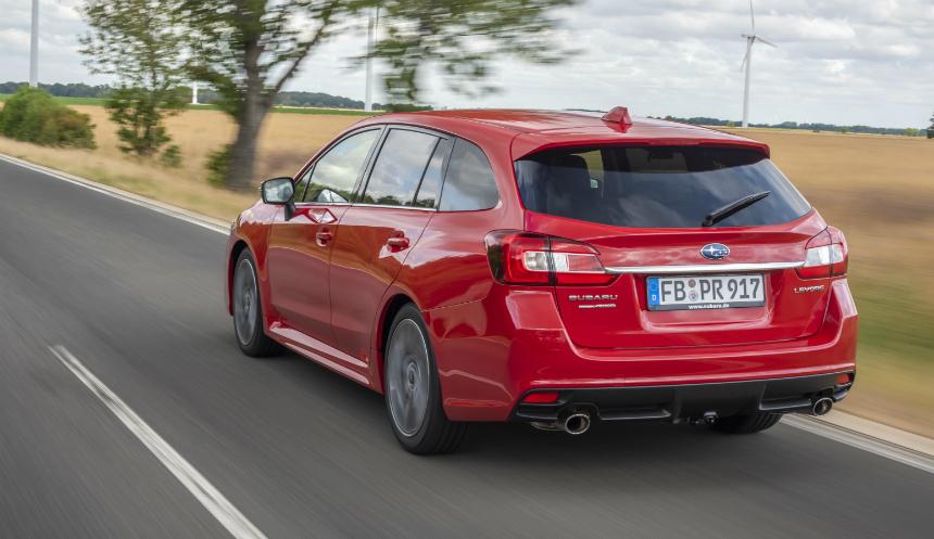 Европейский универсал Subaru Levorg лишился турбомоторов 3