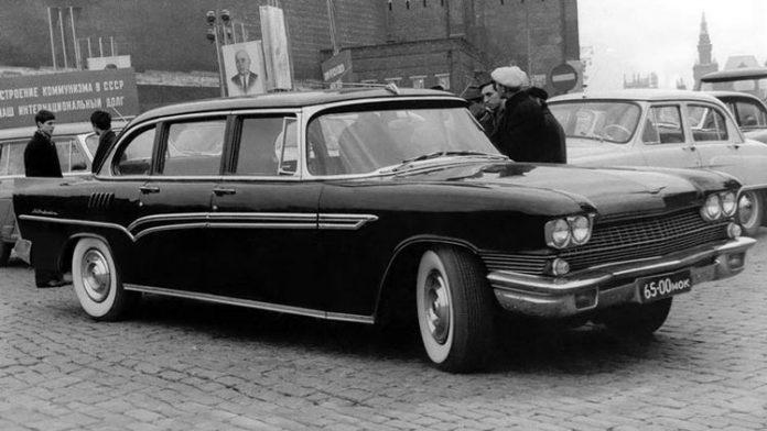 Главная советская машина ЗИЛ-111 оказалась плагиатом 1