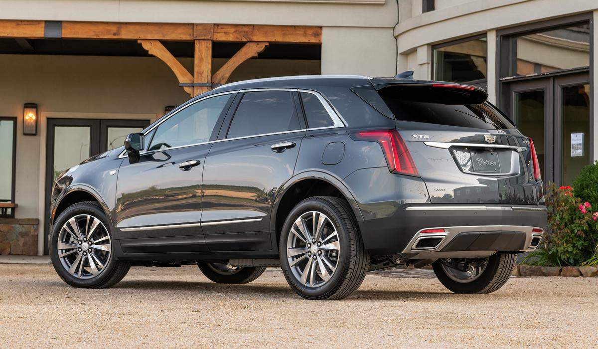 Американский Cadillac XT5 обновлен по образцу китайского 2