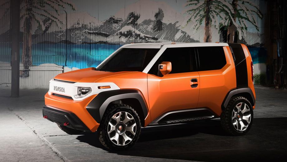 Появились новые сведения про Toyota FT-4X 1