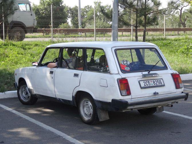 Соцсети изумило фото ВАЗ-2104 на еврономерах 1