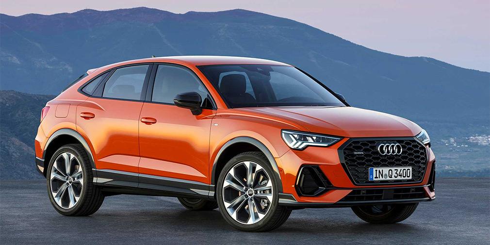 Audi представила новый кроссовер Q3 Sportback 2